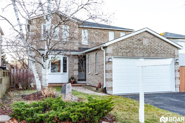 63 Carruthers Crescent, Barrie