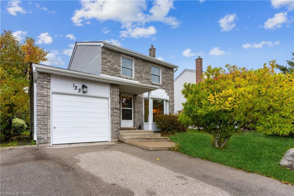 122 ROLLING MEADOWS Drive, Kitchener