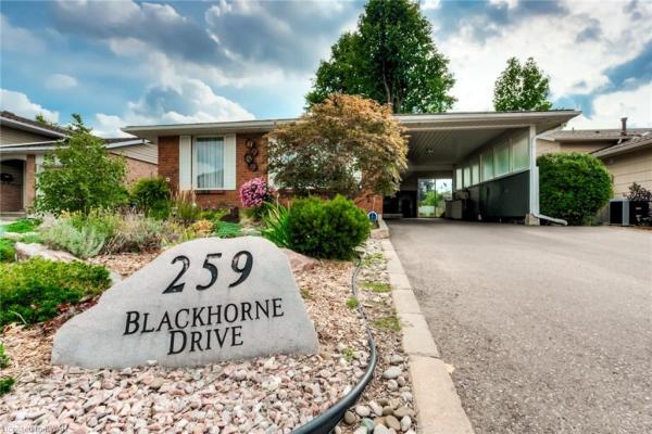 259 BLACKHORNE Drive, Kitchener
