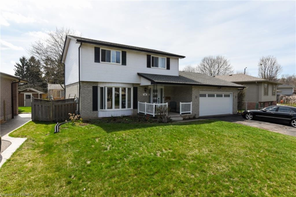89 GREENFIELD Road, Brantford