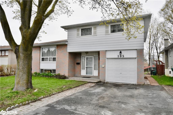 105 COLLEGE Crescent, Barrie
