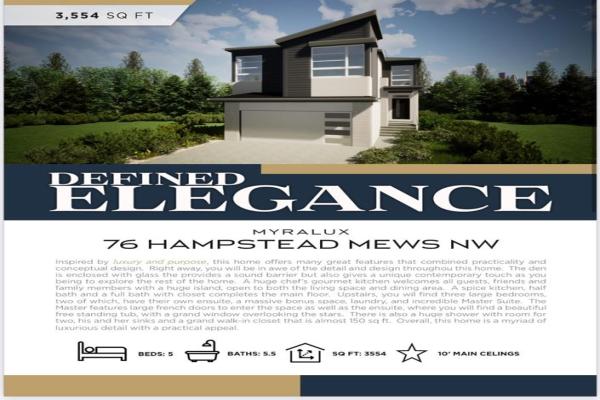 76 Hampstead Mews NW, Calgary