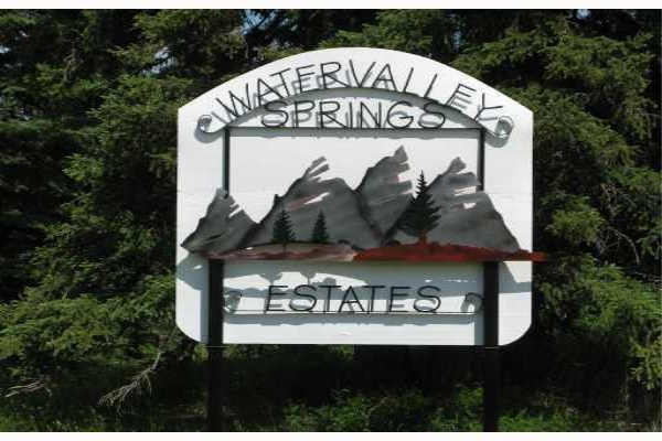 Water Valley Springs Estates, Rural Mountain View County