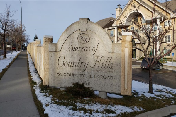 #107 728 COUNTRY HILLS RD NW, Calgary