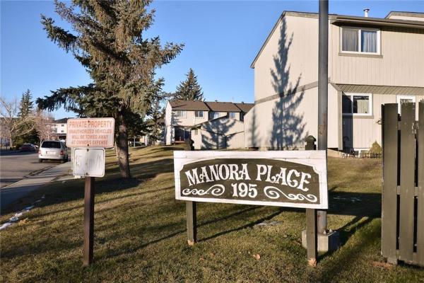 #38 195 MANORA PL NE, Calgary