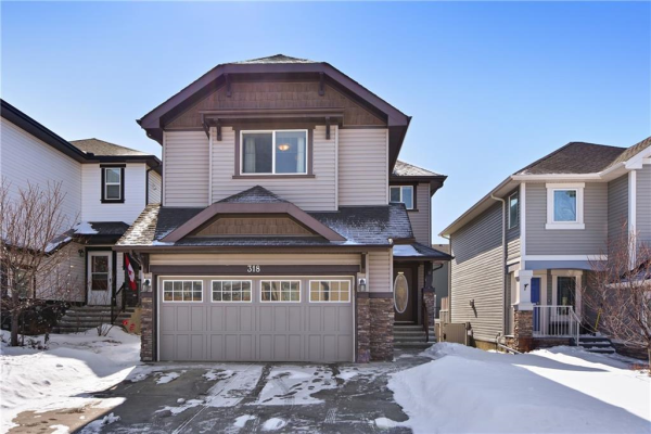318 Kingsbury View SE, Airdrie