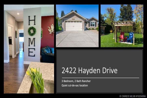 2422 Hayden Drive,, Armstrong