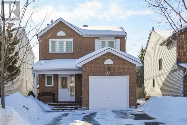 81 SADDLE CRESCENT, Ottawa
