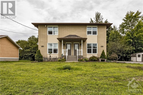 293-295 RUSSELL ROAD, Clarence-Rockland