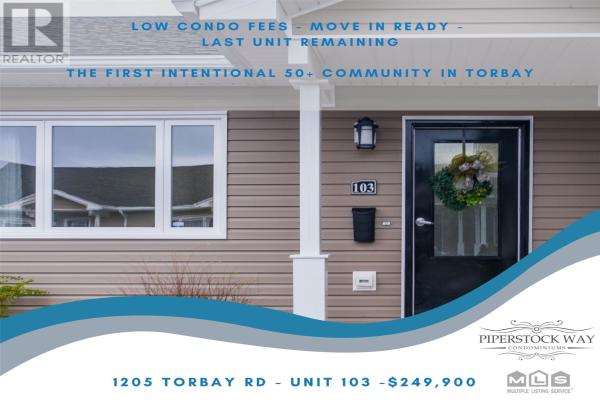 1205 TORBAY Road Unit#3, TORBAY