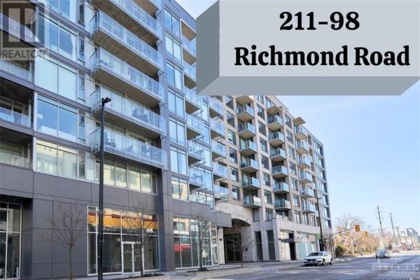 98 RICHMOND ROAD UNIT#211, Ottawa