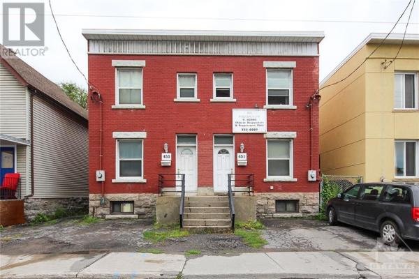 453 CATHERINE STREET UNIT#451 & 453, Ottawa