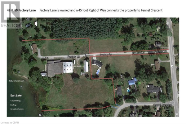 49 FACTORY Lane, Prince Edward County