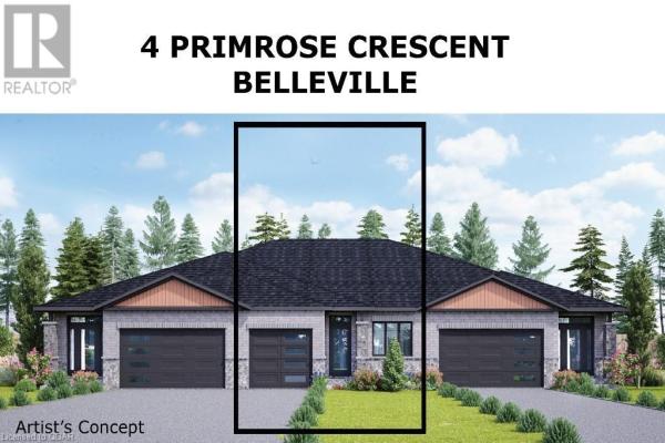 4 PRIMROSE CRESCENT, Belleville