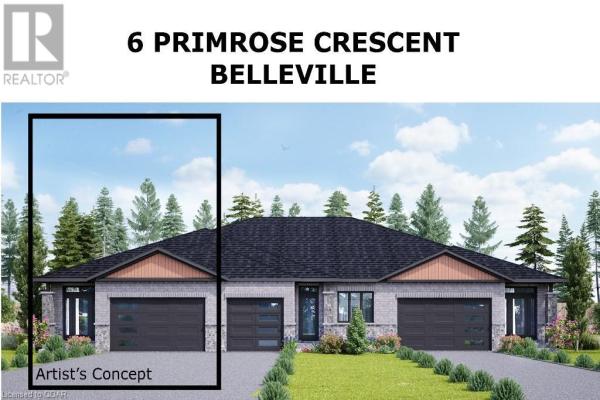 6 PRIMROSE CRESCENT, Belleville