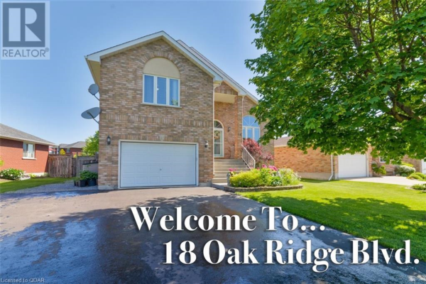 18 OAK RIDGE BOULEVARD, Belleville