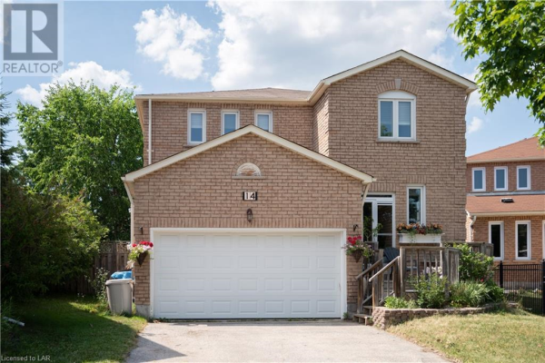 14 CARRUTHERS CRESCENT, Barrie