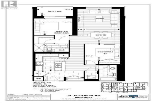 205 -  1886 Gordon Street, Guelph