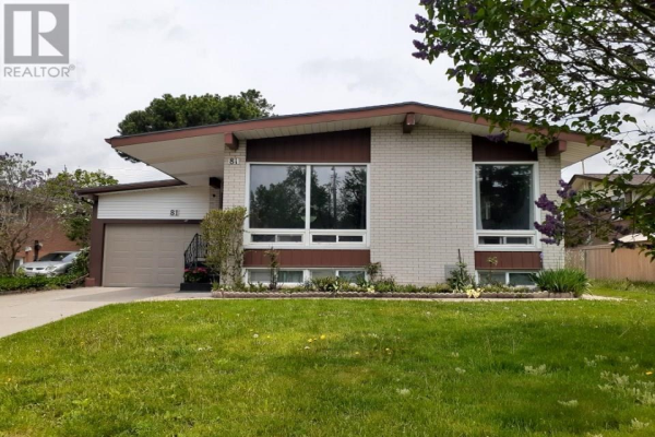 81 SECORD Avenue, Kitchener