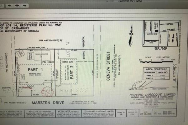 543 PART OF 543 GENEVA Street, St. Catharines