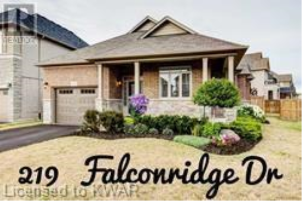 219 FALCONRIDGE Drive, Kitchener