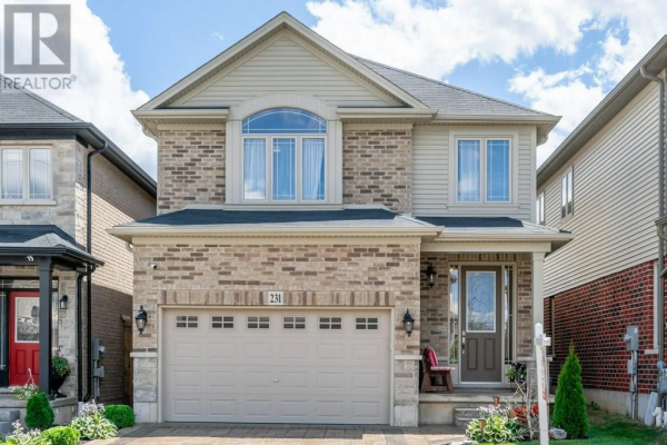 231 GREENWATER Place, Kitchener