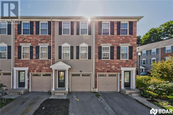 91 COUGHLIN Road Unit# 22, Barrie