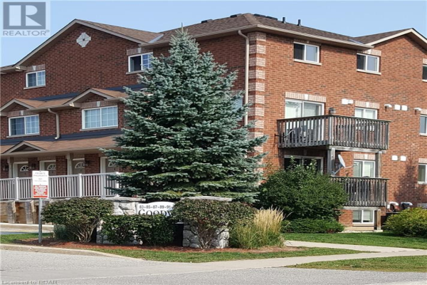 85 GOODWIN Drive Unit# 6, Barrie