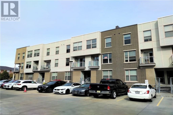 62 BALSAM Street Unit# T108, Waterloo