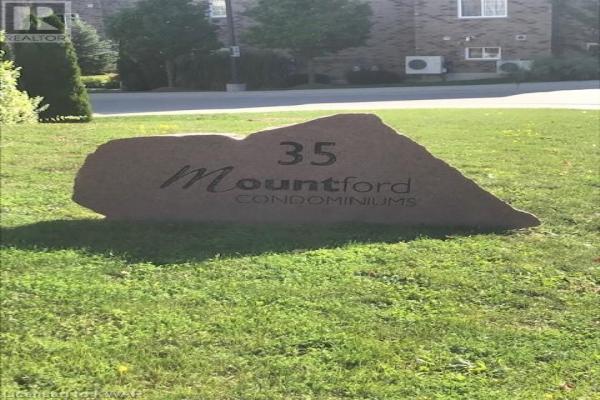 35 MOUNTFORD Drive Unit# 6, Guelph