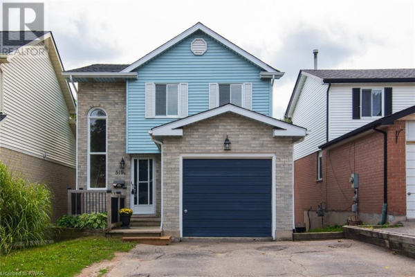 519 ROSEMEADOW Crescent Unit# B, Waterloo