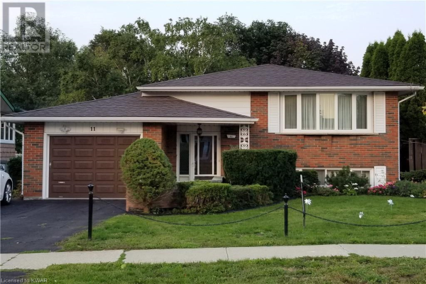 11 COVENTRY Drive, Kitchener