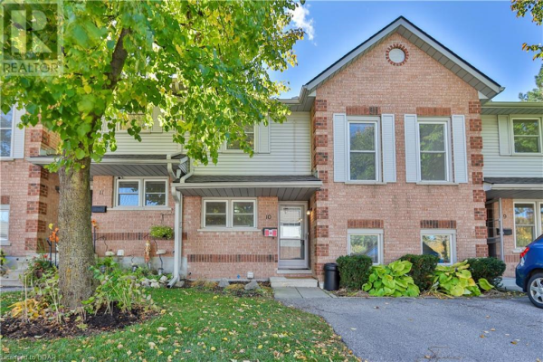180 MARKSAM Road Unit# 10, Guelph