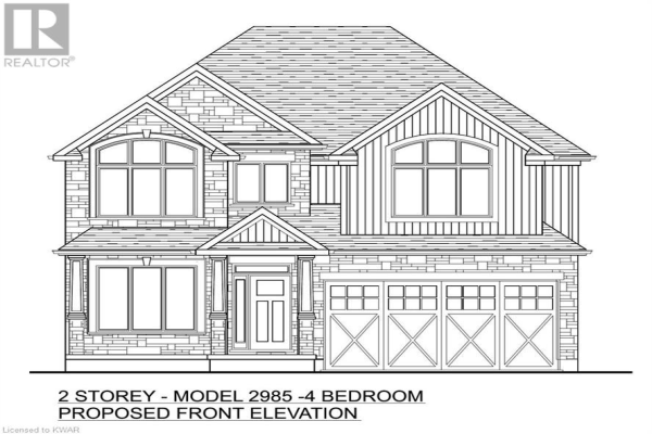 450 BRIDGEPORT Road Unit# Lot 8, Kitchener
