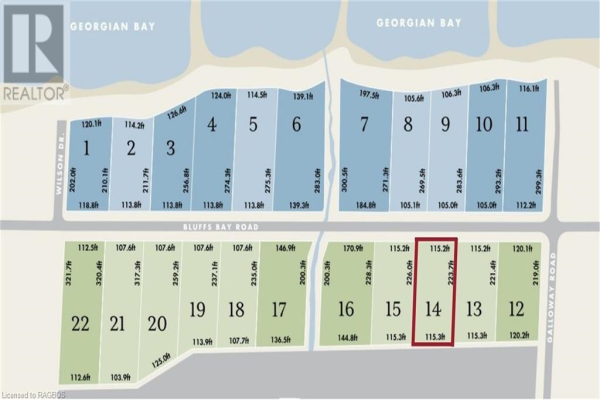 LOT 14 PLAN 16M67, Georgian Bluffs