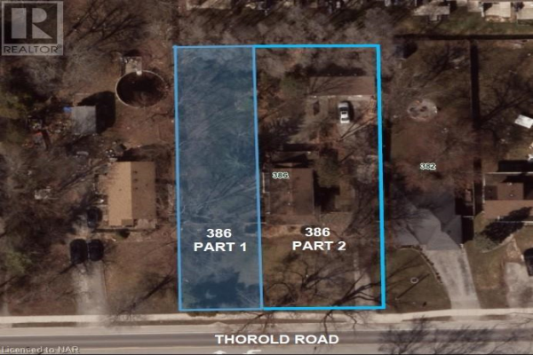 PART 1 - 386 THOROLD Road, Welland