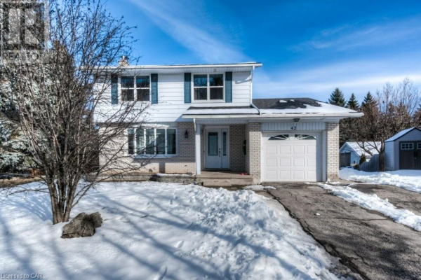 42 VIEWMONT Close, Kitchener