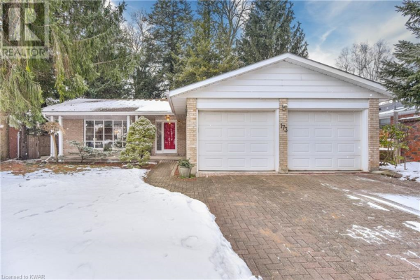173 PINE GROVE Crescent, Waterloo