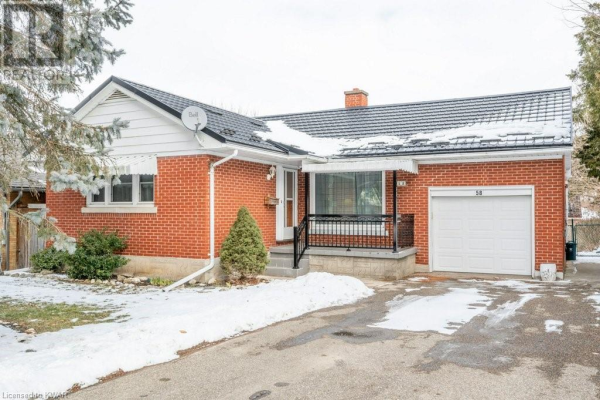 58 FAIRMOUNT Road, Kitchener