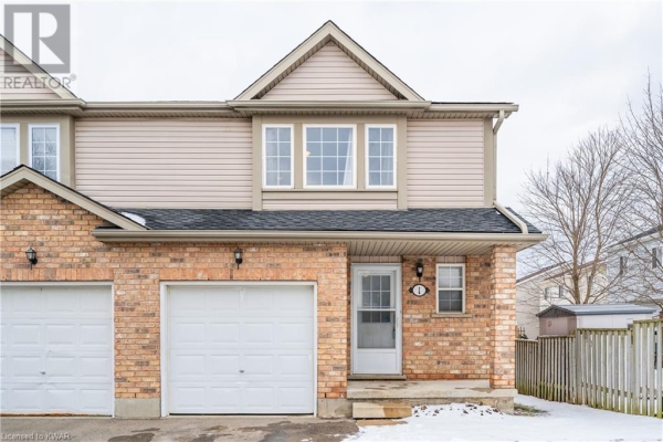 84 WESTMEADOW Drive Unit# 1, Kitchener