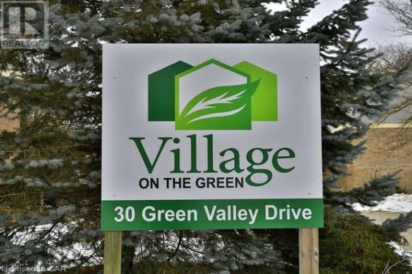 30 GREEN VALLEY Drive Unit# 106, Kitchener