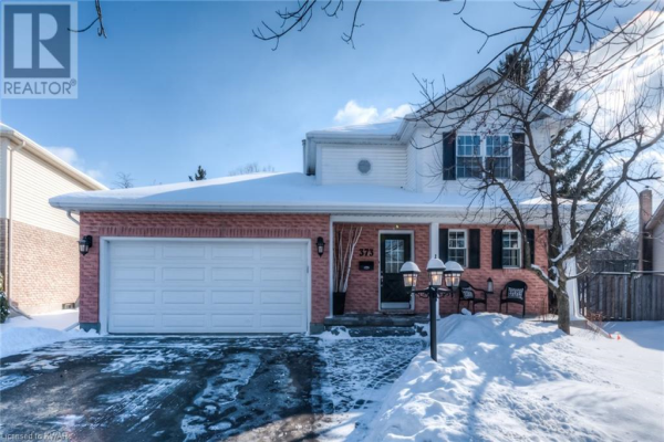 373 STONEHEIGHT Place, Waterloo
