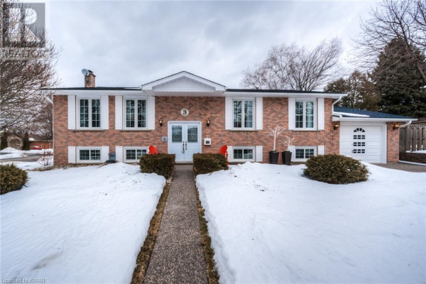 3 FOLKSTONE Crescent, Kitchener