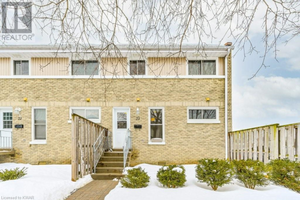 35 BRECKENRIDGE Drive Unit# 23, Kitchener