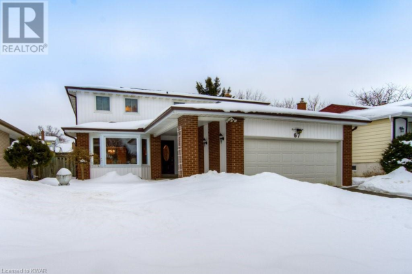 67 RAMBLEWOOD Way, Kitchener