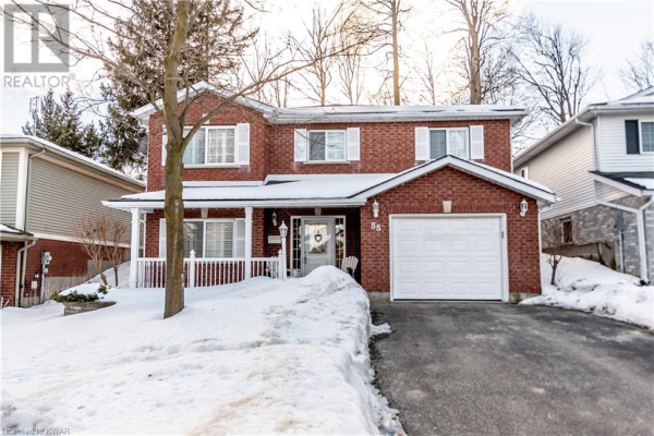 55 WILDLARK Crescent, Kitchener