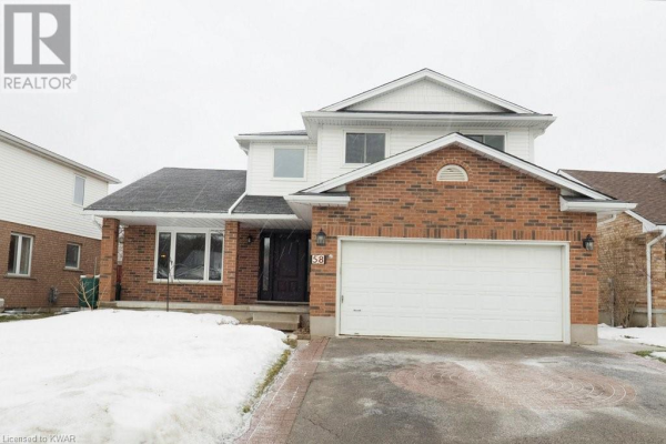 58 ZELLER Drive, Kitchener