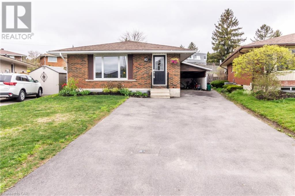 83 HILLSBOROUGH Crescent, Kitchener