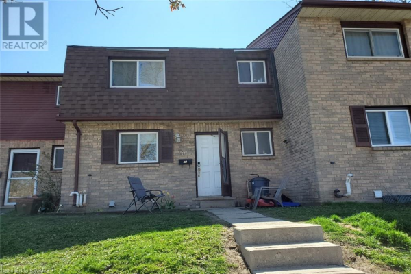 175 SIEBERT Avenue Unit# 11, Kitchener