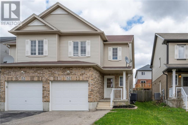 1332 COUNTRYSTONE Drive, Kitchener